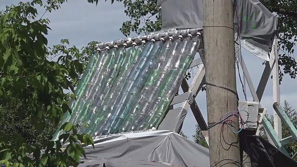 Солнечные батареи - из бытового мусора