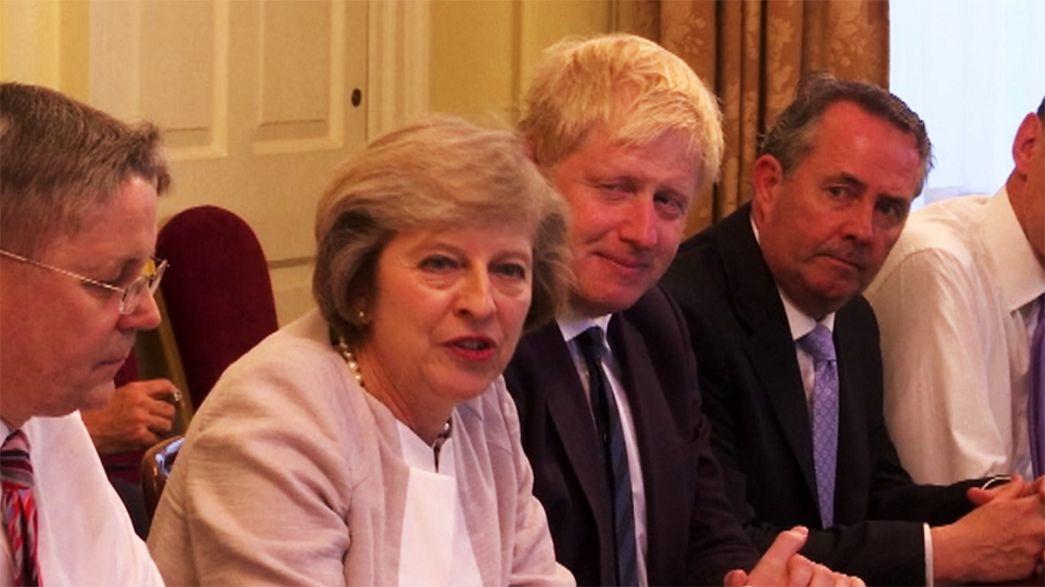 """В британском кабинете пока нет ясности с """"брекситом"""""""
