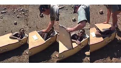 Afrique du Sud : des Blancs tentent d'enterrer vivant un Noir, Julius Malema se saisait de l'affaire
