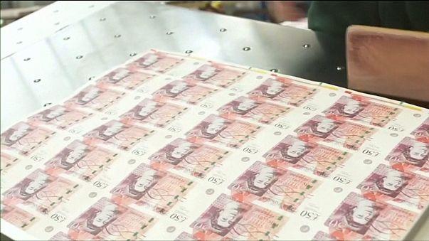 Рост инфляции в Великобритании замедлился
