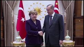 Awkward relations between Germany and Turkey