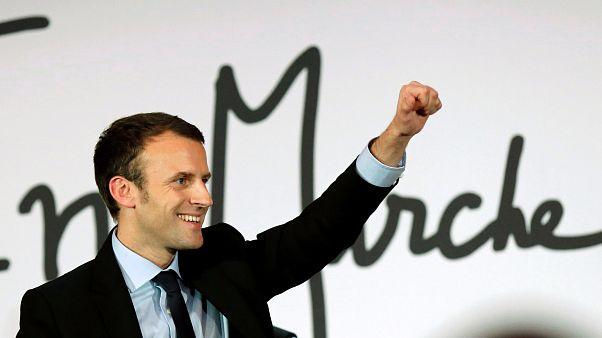 Frankreichs Ex-Wirtschaftsminister Emmanuel Macron kündigt Präsidentschaftskandidatur an