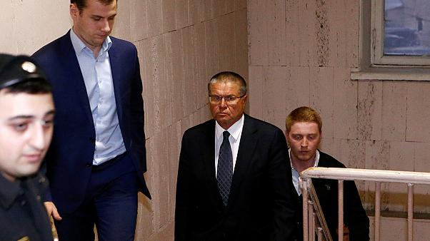 Russian economy minister charged with bribery