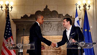 Obama pour l'allègement de la dette grecque
