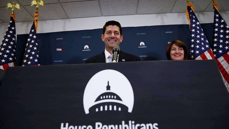 Paul Ryan re-elected House speaker as Donald Trump struggles to form team