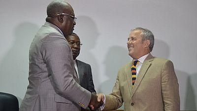 Football: Congo coach sacked