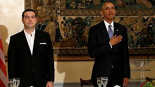 Obama spreads message of 'calm' in Greece