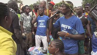Lagos face aux protestations des délogés