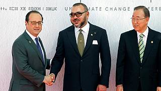 COP22: Mohammed VI and Hollande react to climate change agreement