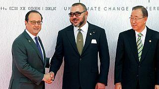 COP22: discours du roi marocain et du président français