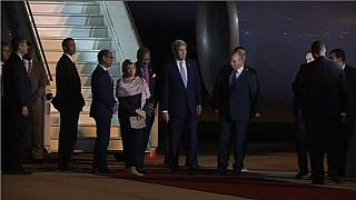 Kerry arrives in Marrakech for climate summit overshadowed by Trump