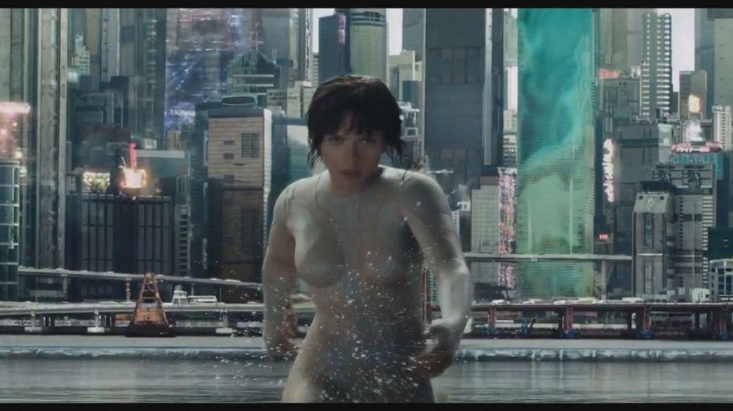 """""""Ghost in the Shell"""" en teasing à Tokyo avec S. Johansson"""