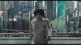 """Scarlett Johansson se convierte en un cíborg en """"Ghost in the Shell"""""""