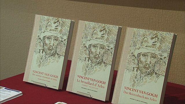 Desenhos inéditos de Van Gogh reunidos em livro
