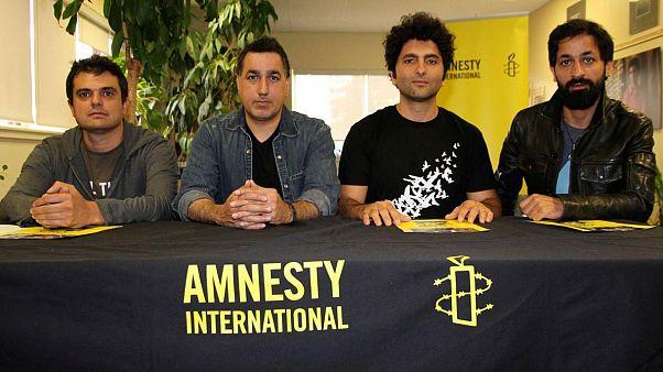 کارزار عفو بینالملل و کیوسک برای آزادی هنرمندان ایرانی