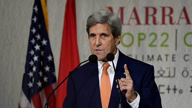 John Kerry seeks to reassure countries of US commitment to COP21 climate change deal