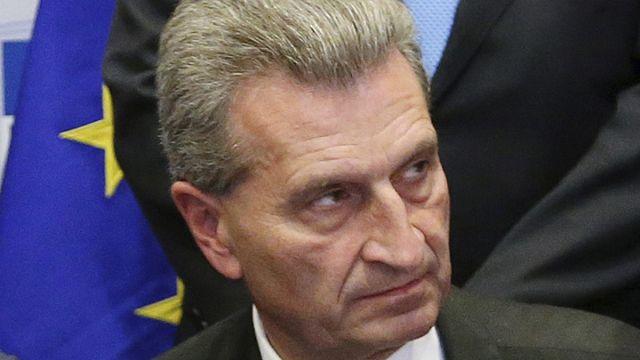 Oettinger'in seyahat gafı milletvekillerini kızdırdı