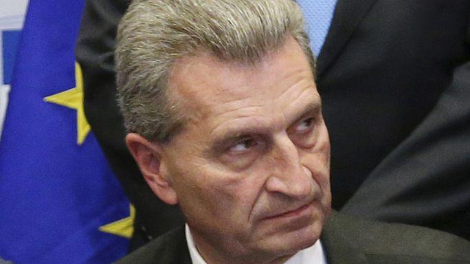 Oettinger sorgt erneut für Empörung