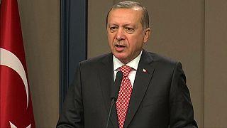 Erdogan szerint a Nyugat terrorszervezeteket támogat