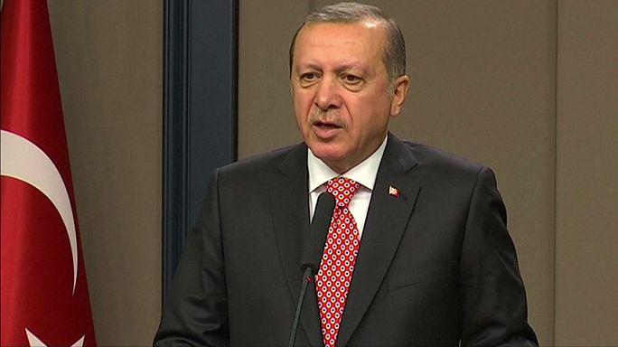 Turquie : Erdogan accuse l'Allemagne et la Belgique de soutenir le PKK