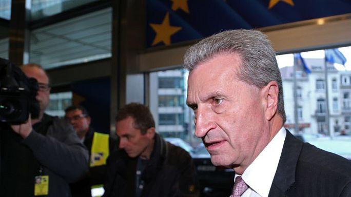 Oettinger yine eleştirilerin odağında