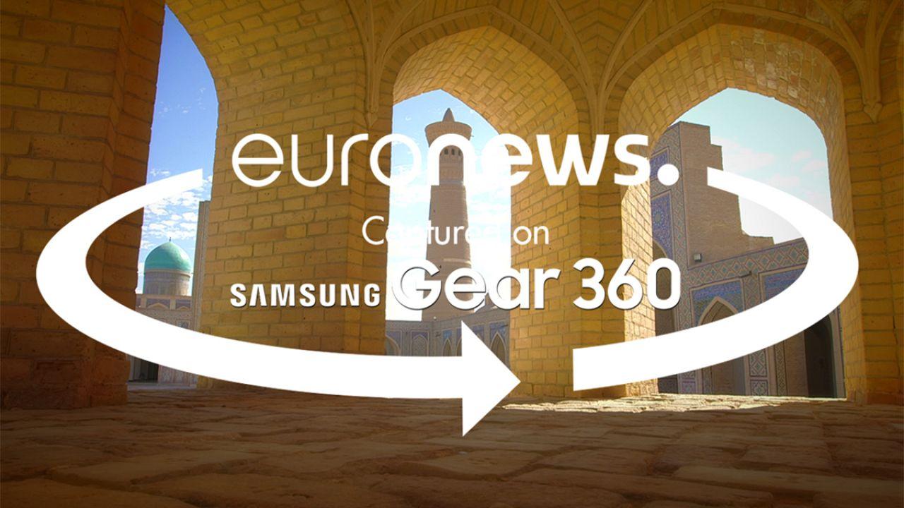 Uzbek city of Bukhara gets 360° treatment