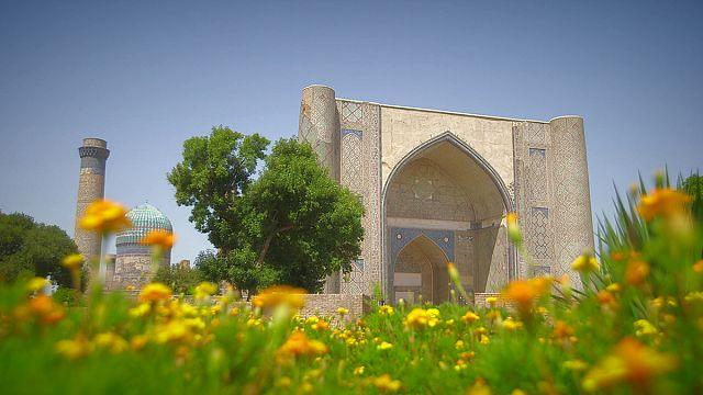 360° videos reveal secrets of Uzbek treasures