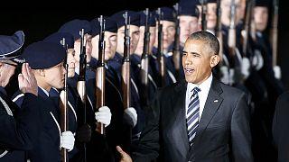 Στη Γερμανία ο Μπαράκ Ομπάμα - Συρία, Ρωσία και ΝΑΤΟ στην ατζέντα