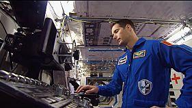 Thomas Pesquet avant son envol pour l'ISS