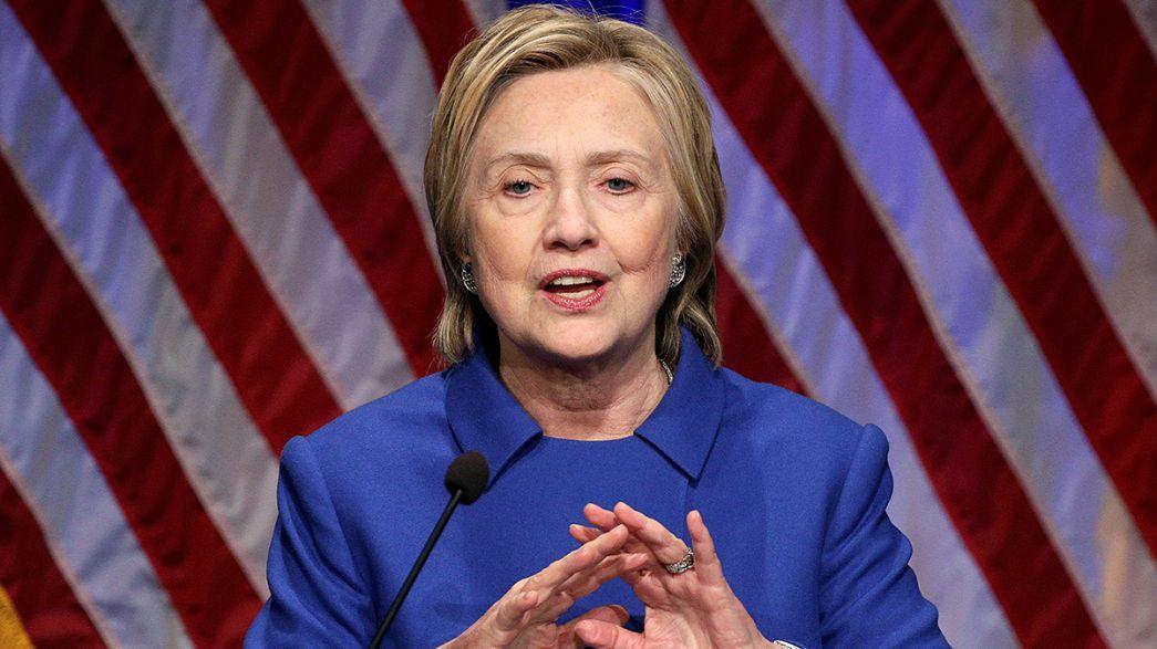 Première déclaration publique d'Hillary Clinton depuis sa défaite
