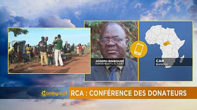 Rca: conférence des donateurs [The Morning Call]