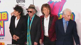 """Stones: Alle vier in New York zur """"Exhibitionism""""-Eröffnung"""