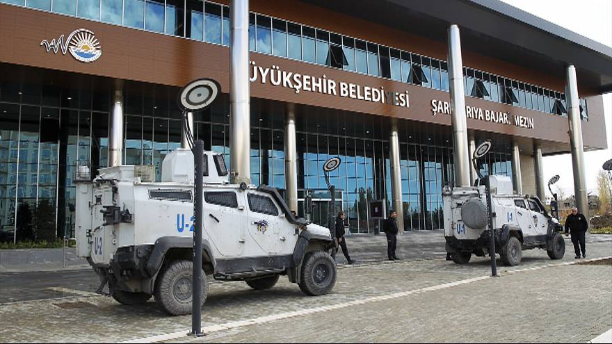 Turkey detains mayor of Van and takes over three municipalities in southeast