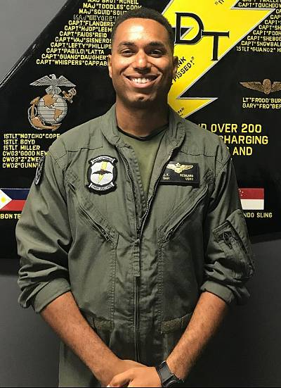 Capt. Jahmar Resilard died after two Marine aircraft collided last week off Japan. The Marine Corps declared five other missing Marines dead on Tuesday.