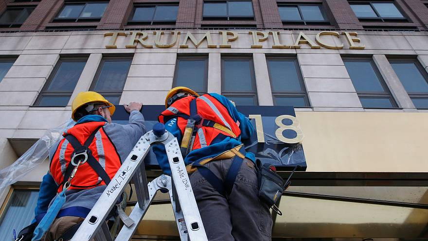 "New York residents have ""Trump"" name removed from their buildings"