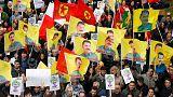 Près de 3.000 opposants à Erdogan manifestent à Bruxelles