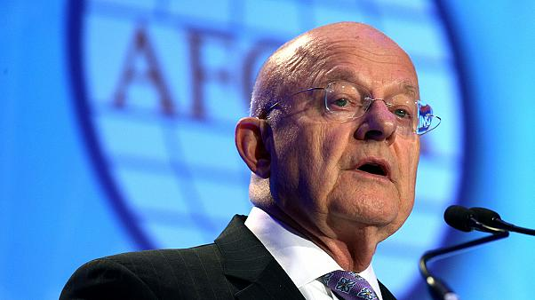 US Intelligence Chief James Clapper resigns