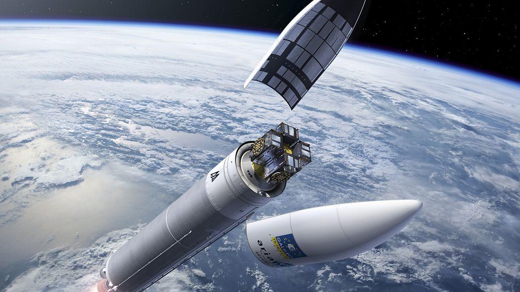 """Систему """"Галилео"""" пополнили 4 новых спутника"""