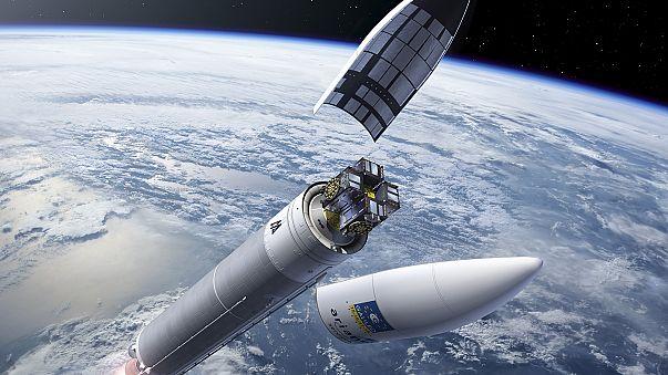 Ariane 5 met sur orbite quatre satellites Galileo