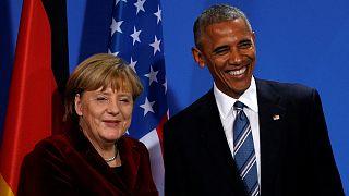 Obama praises Merkel, says US-Europe foundation stone intact