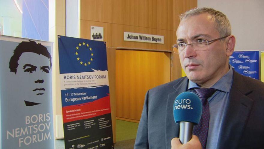 Ходорковский - о связях с ЕС, Трампе, Улюкаеве и Навальном
