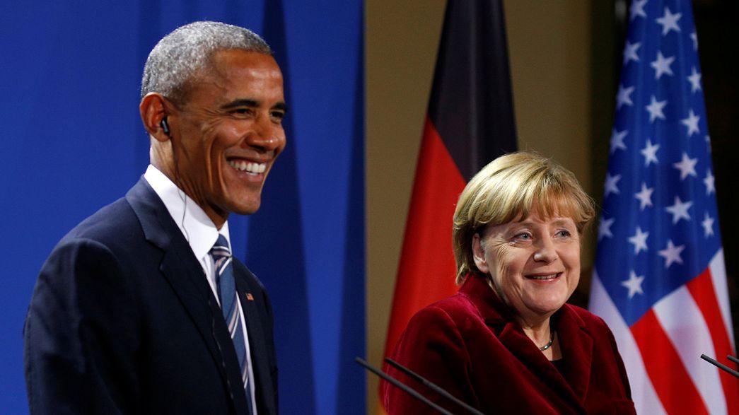 """L'""""au-revoir"""" de Barack Obama à l'Allemagne et à l'Europe"""
