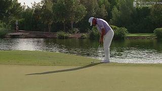Ли Вествуд вышел в лидеры итогового турнира в Дубае