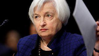 يلين امام الكونغرس الاميركي وتثير آمال رفع الفائدة الشهر المقبل