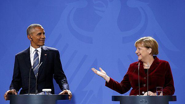 Au revoir président! Barack Obama fait ses adieux à l'UE