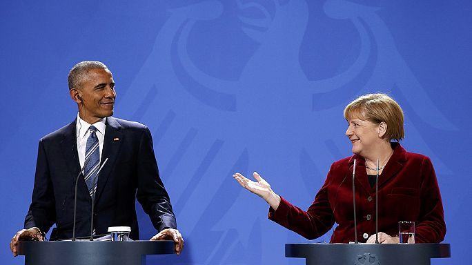 Obama'nın Avrupa turnesi sona erdi