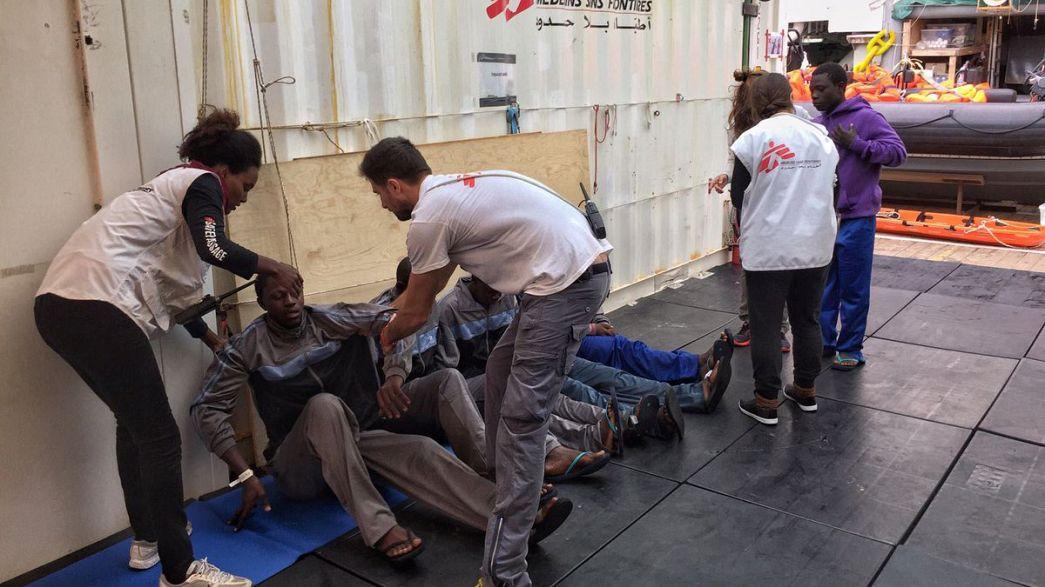 Migrants : plus de 350 morts en Méditerranée depuis lundi