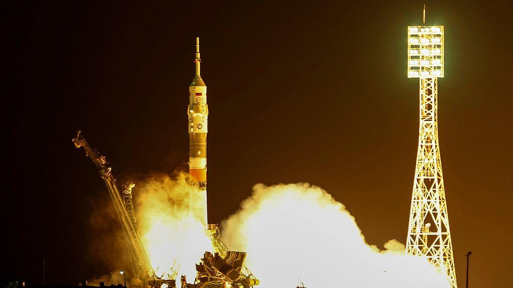 Tres astronautas ponen rumbo a la EEI para estudiar el ciclo del sueño