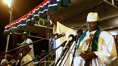 Electoral violence is like a raging 'bushfire' – Jammeh urges peaceful campaign