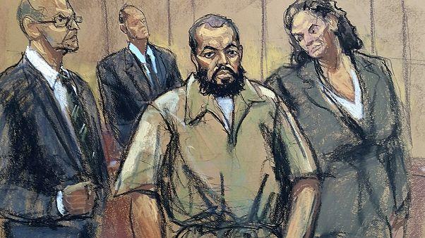 Etats-Unis : le suspect de l'attentat de Manhattan plaide non-coupable